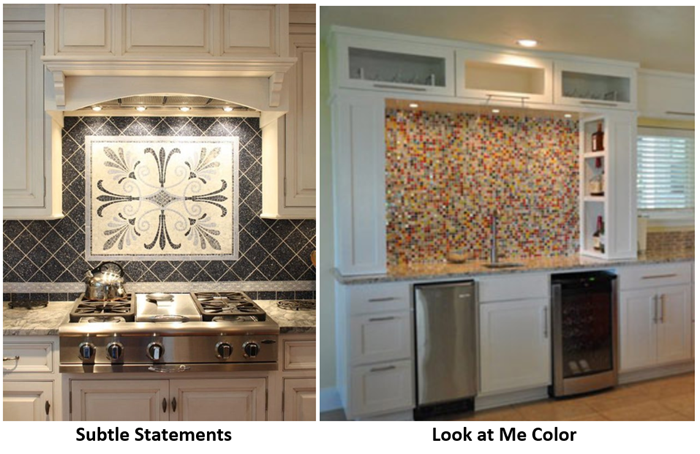 kitchen focal points backsplash