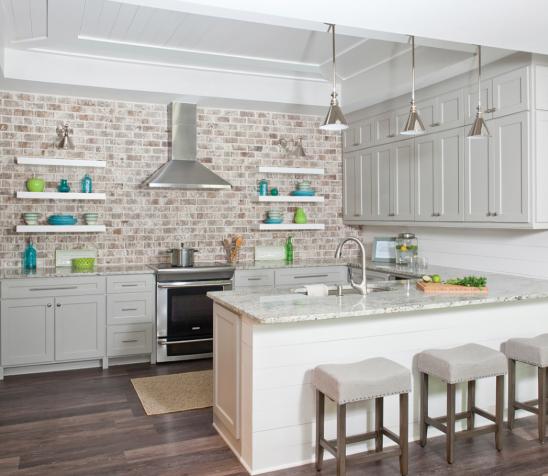 Open Kitchen Cabinet Designs: Custom Kitchen Cabinets Design Vs. Open Kitchen Shelving