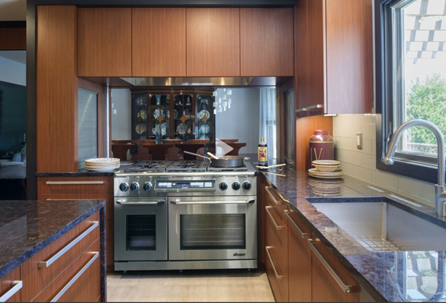 Kitchen Design Company in New Jersey Uses Stainless everywhere